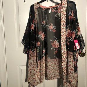 Flowy Floral Kimono
